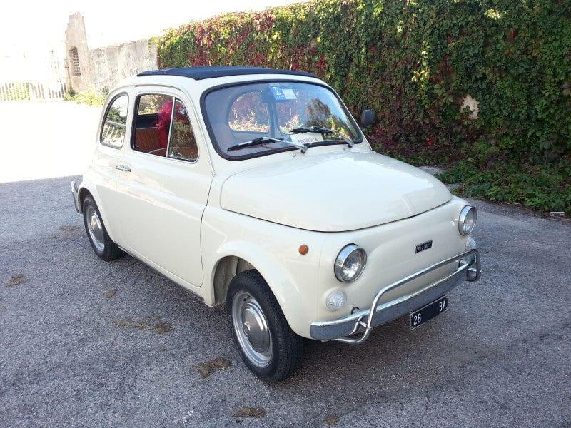La Fiat 500 di Angelo W109