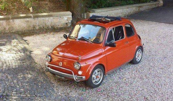 La Fiat500 di Adriano Pacetti
