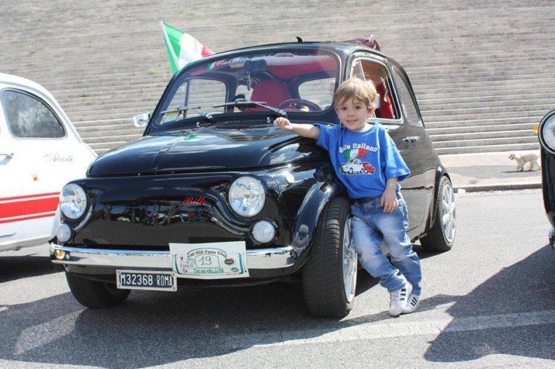 La Fiat 500 di billo