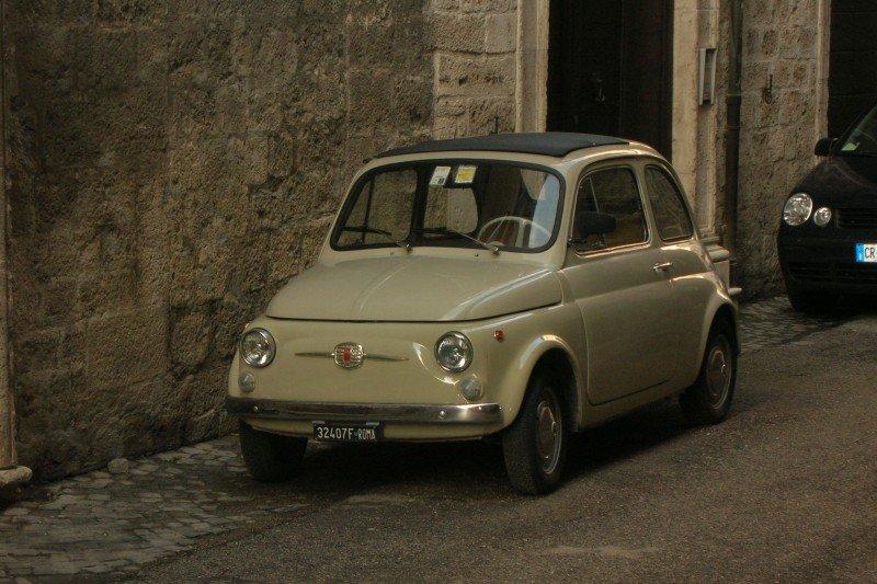 La Fiat 500 di Alex