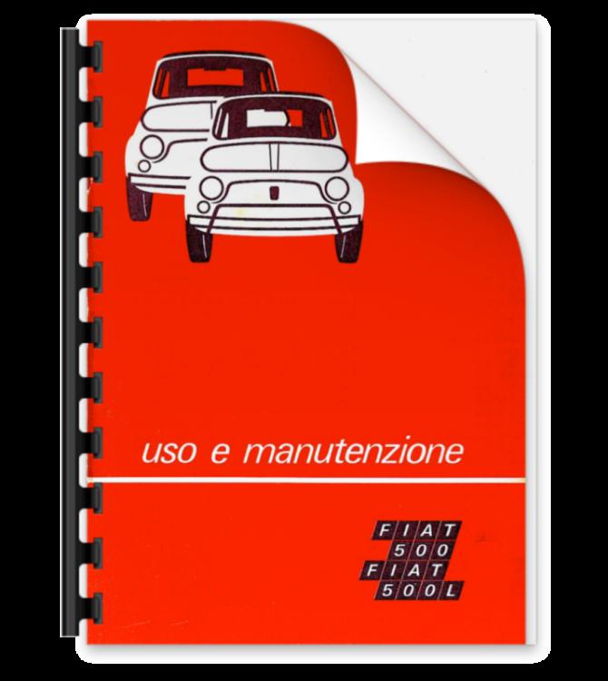 Manuale online uso e manutenzione Fiat 500