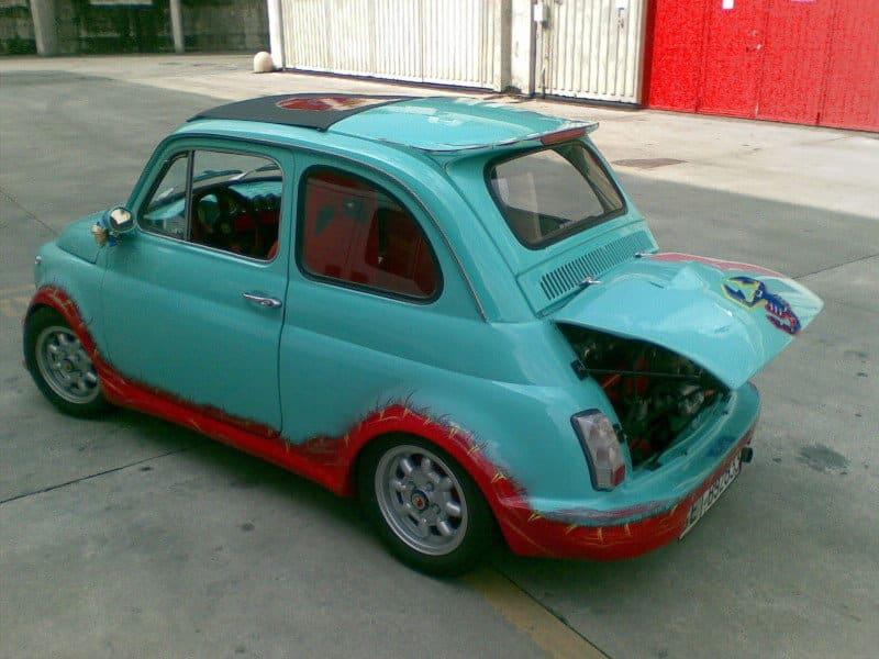 La Fiat 500 di maxge500