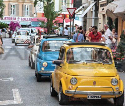 500 miglia in Fiat 500 4