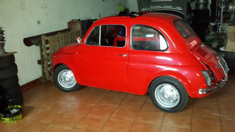 La Fiat 500f di Simone