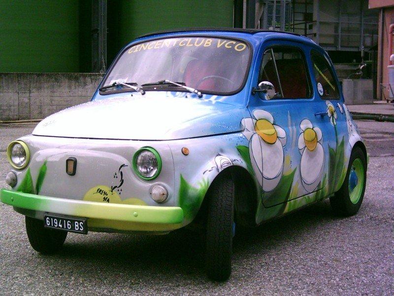 La Fiat 500 di Giorgio