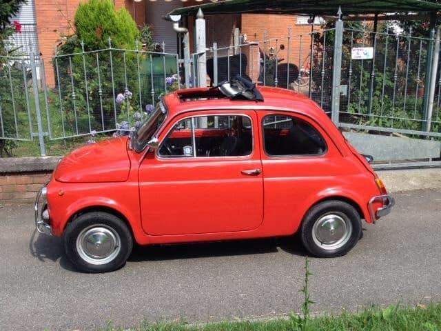 La Fiat 500 di Rocco