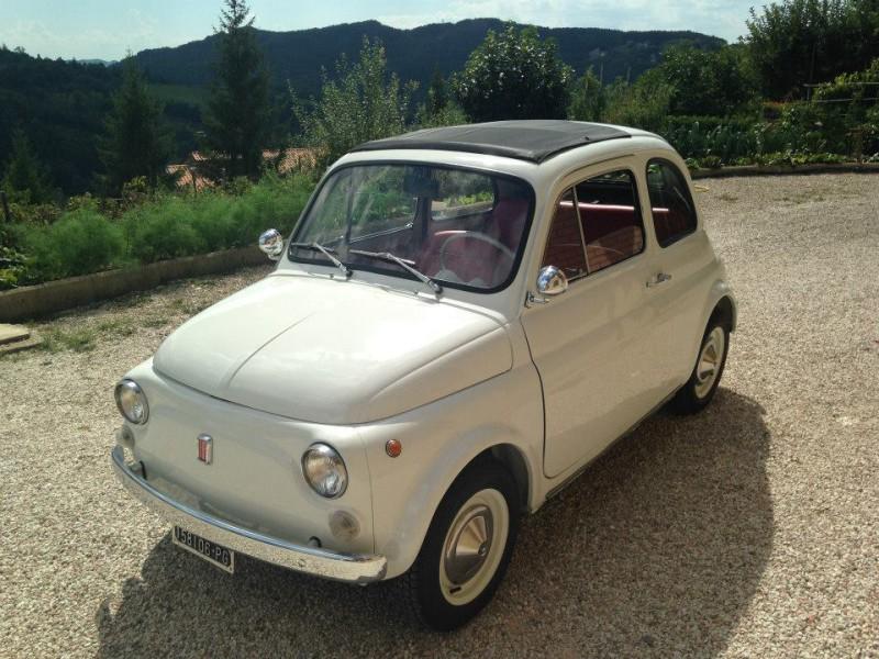 La Fiat 500 di Andrea