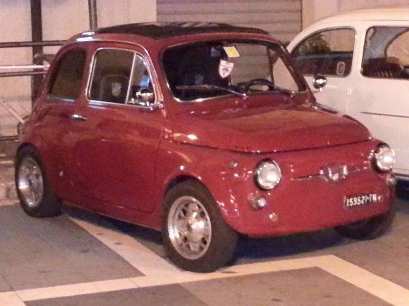 La Fiat 500 di Domenico Versace