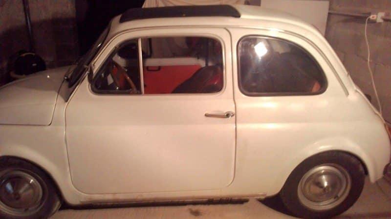 La Fiat 500 di minnao