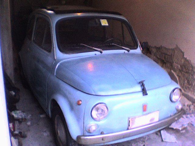 La Fiat 500 di Garalfo