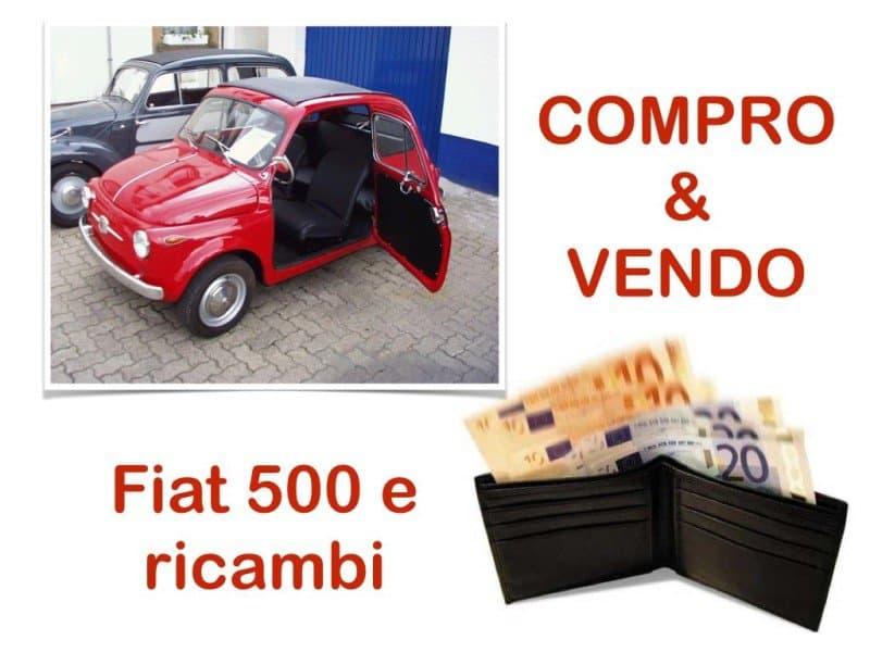 fiat 500 compro vendo