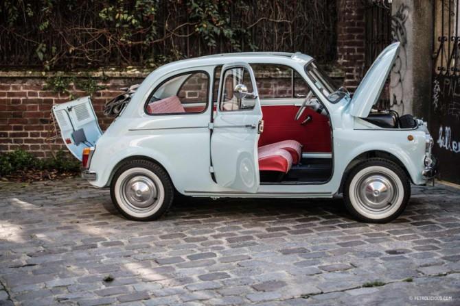 La più bella Fiat 500 del mondo?