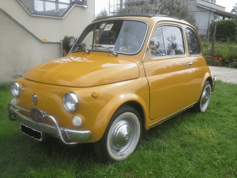 La Fiat 500 di Ranger