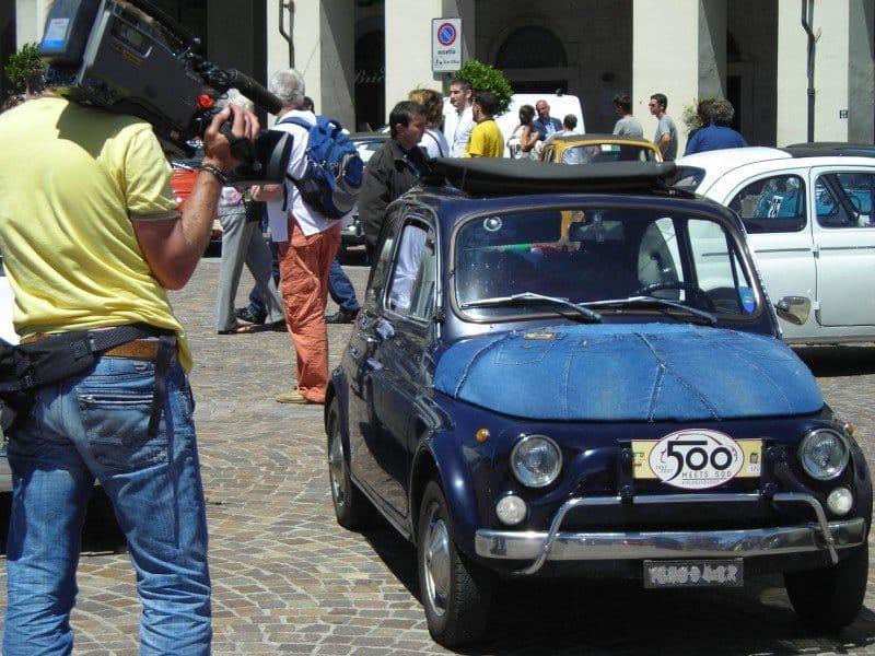 La Fiat 500 di Salfer