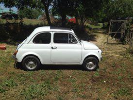 La Fiat 500 di johnny