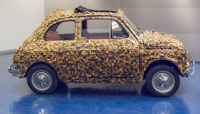 La Fiat 500 di geppetto