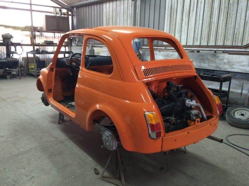 La Fiat 500 di Denise