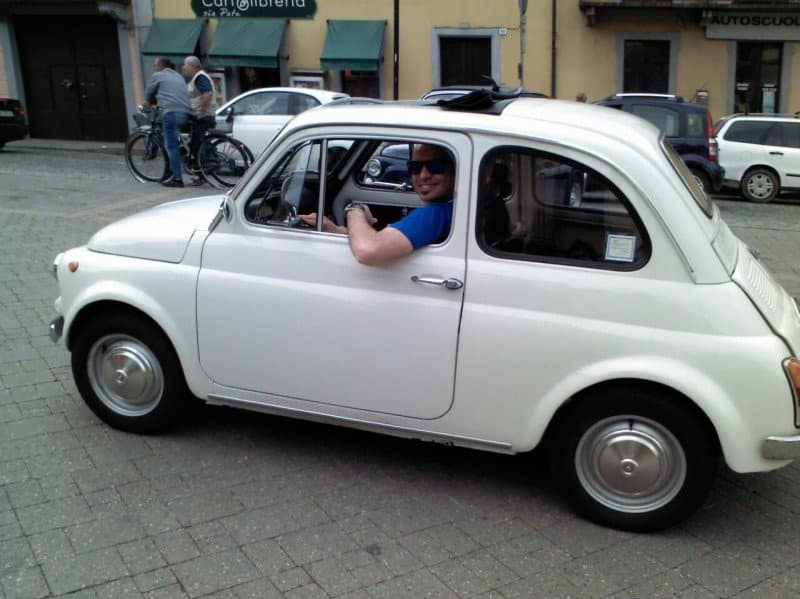 La Fiat 500 di Andrea82