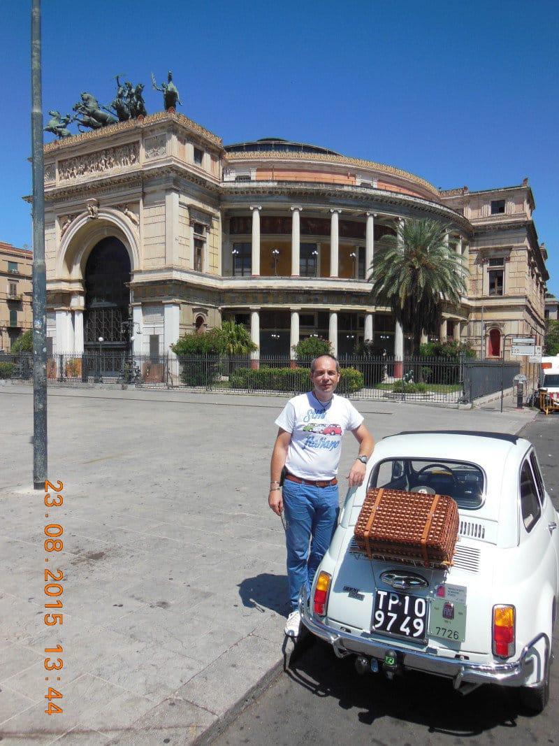 La Fiat 500 di Daniele 500