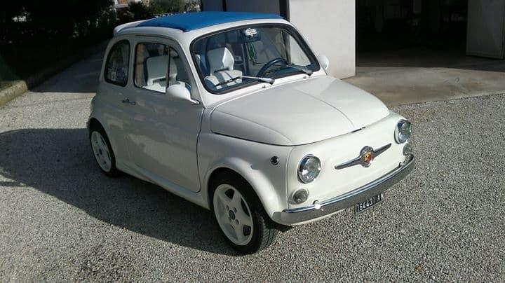 La Fiat 500 di Danis