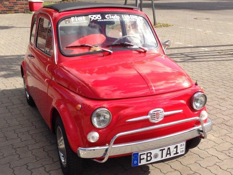 La Fiat 500 di Seehuber