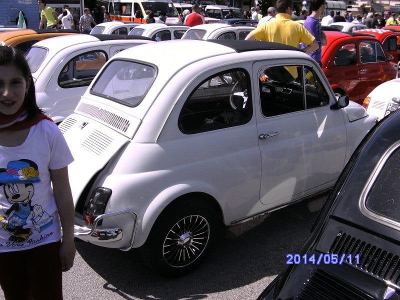 LA Fiat 500 di Bebo