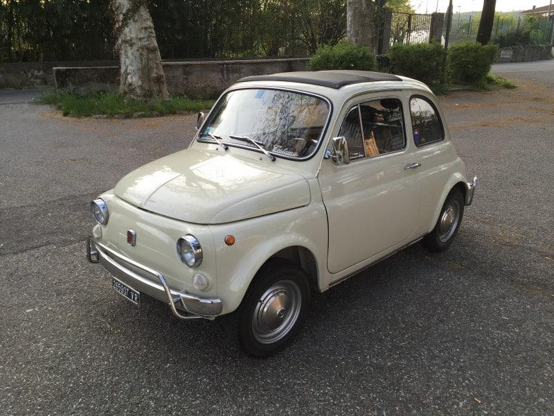 La Fiat 500 di Lupin3