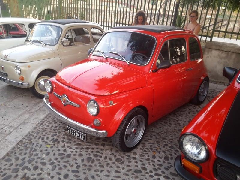 La Fiat 500 di Barber500
