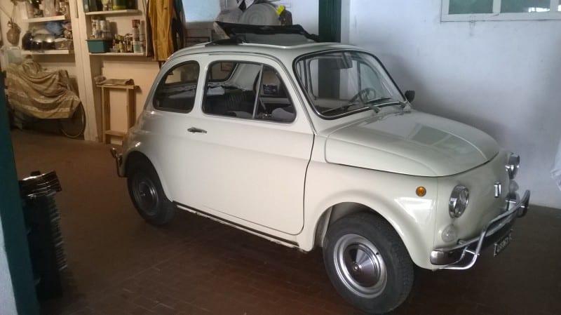 La Fiat 500 di crapino