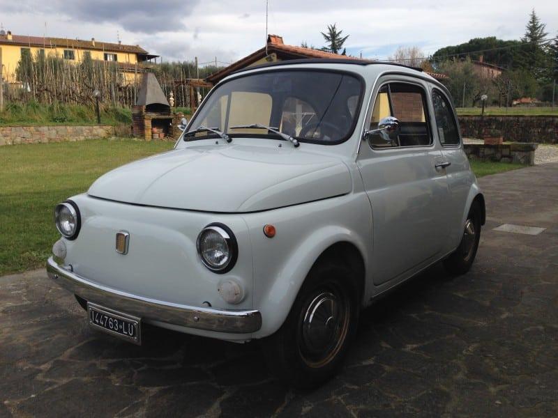 La Fiat 500 di Giangi
