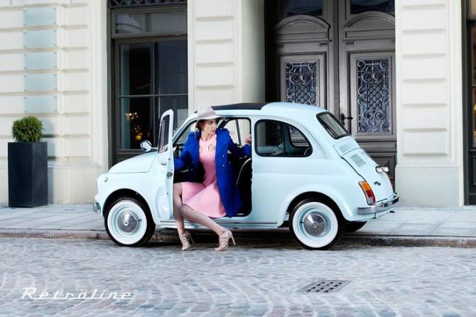Volete una vecchia Fiat 500 come nuova, anzi meglio?