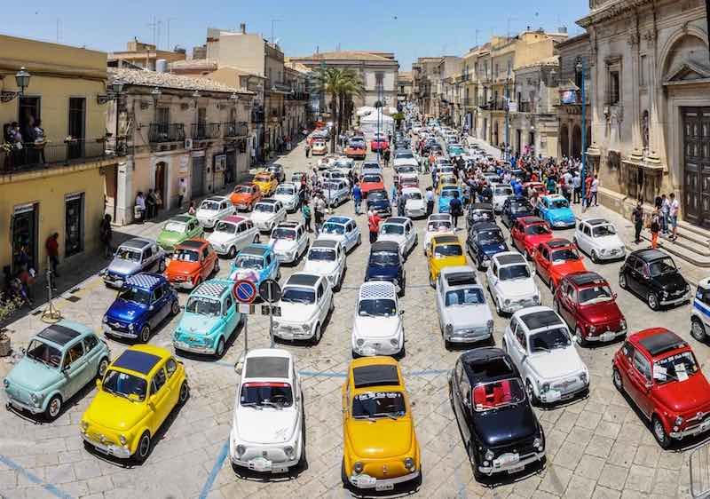 Gli iscritti su Fiat 500 nel mondo