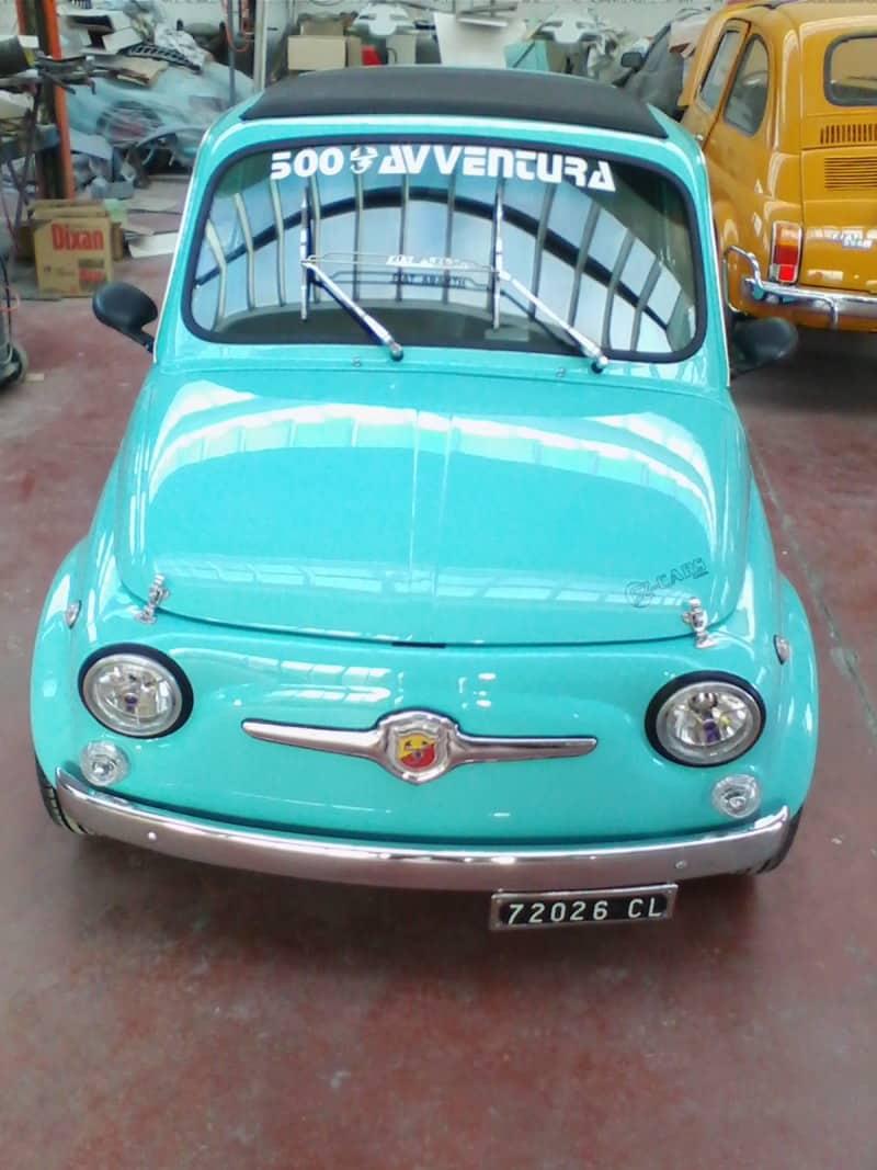 La Fiat 500 di Lino