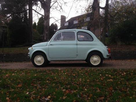 Un sogno di molti appassionati: una Fiat 500 D Trasformabile del 1962