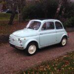 1962 Fiat 500D 500 Trasformabile 263 Verde Chiaro-2b