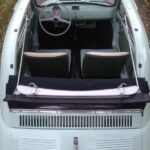 1962 Fiat 500D 500 Trasformabile 263 Verde Chiaro-4b
