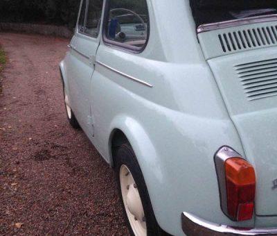 1962 Fiat 500D 500 Trasformabile 263 Verde Chiaro-5b