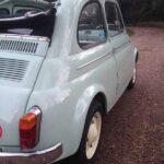 1962 Fiat 500D 500 Trasformabile 263 Verde Chiaro-6b
