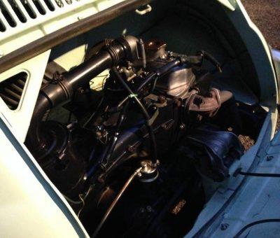 1962 Fiat 500D 500 Trasformabile 263 Verde Chiaro-8b