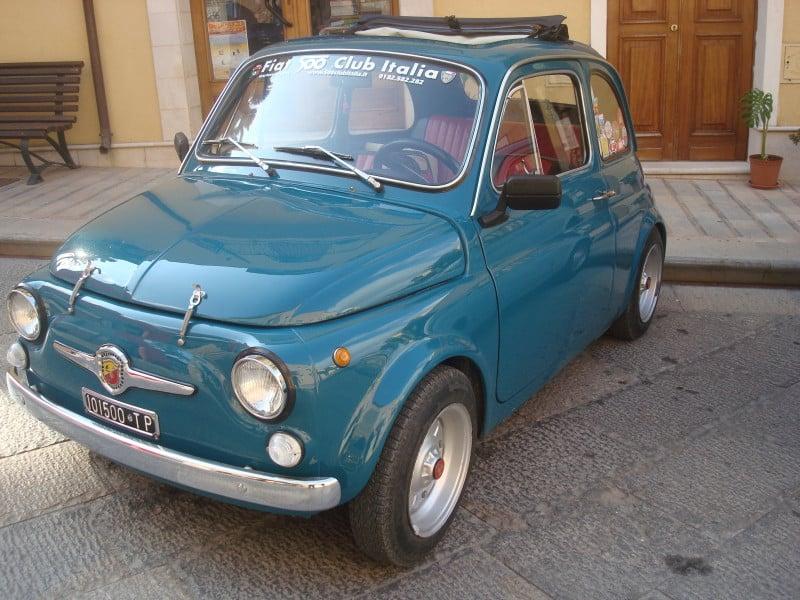 La Fiat 500 di nino