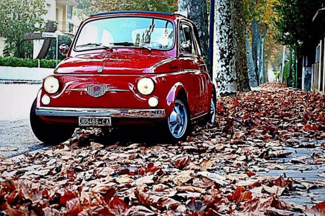 La Fiat 500 Giannini di Alberto : un sogno che si è realizzato