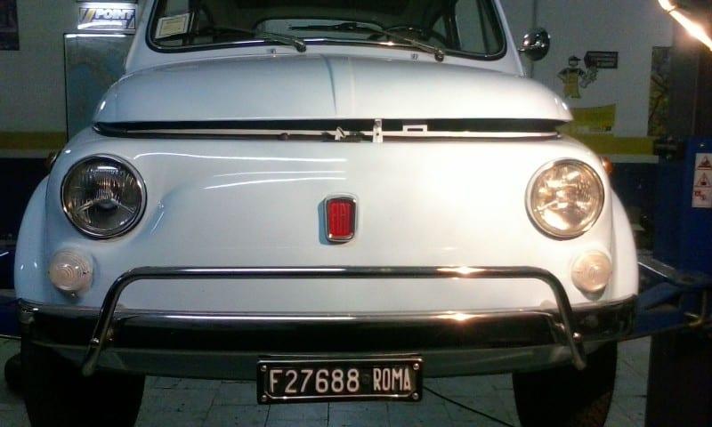 La Fiat 500 di GIU81