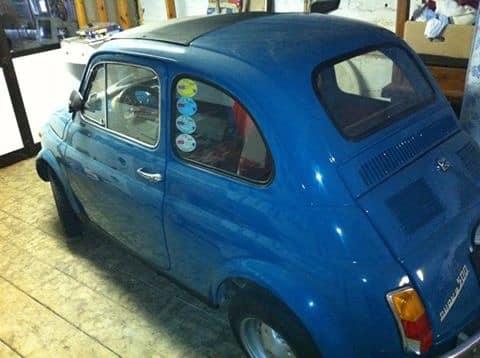 La Fiat 500 di Roberto64