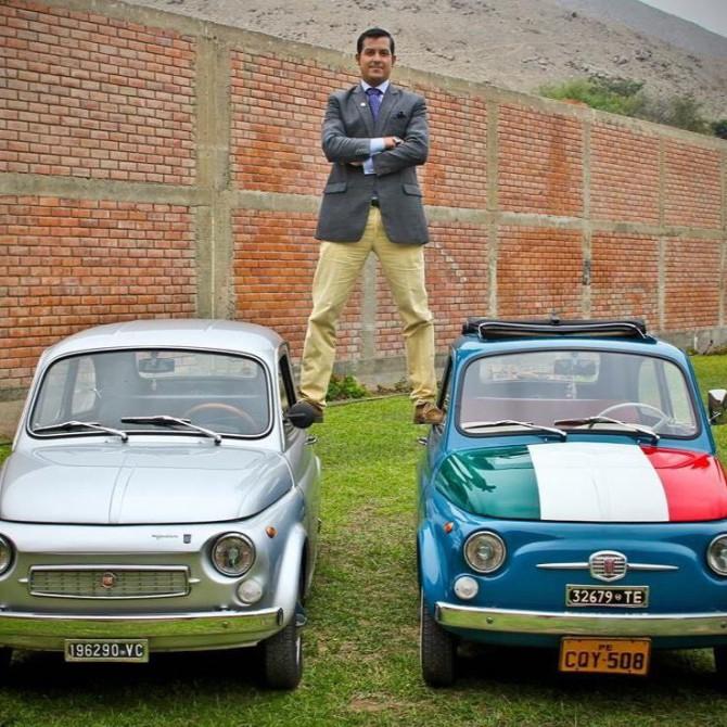 Lima, la capitale del Perù con le sue Fiat 500