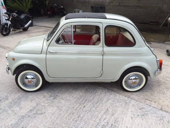Marco Bonavita: passione per il restauro e la sua Fiat 500 N (ma non solo)