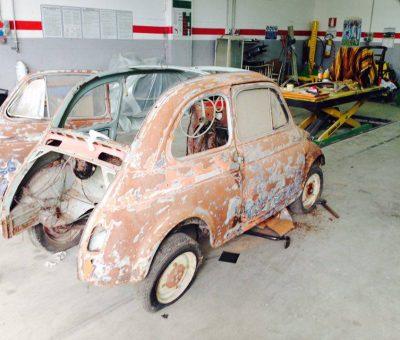 Marco Bonavita Fiat 500 N pre restauro 2