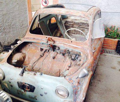 Marco Bonavita Fiat 500 N pre resturo