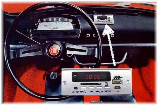 Impianto Stereo per la vostra Fiat 500 ? – 2° Parte