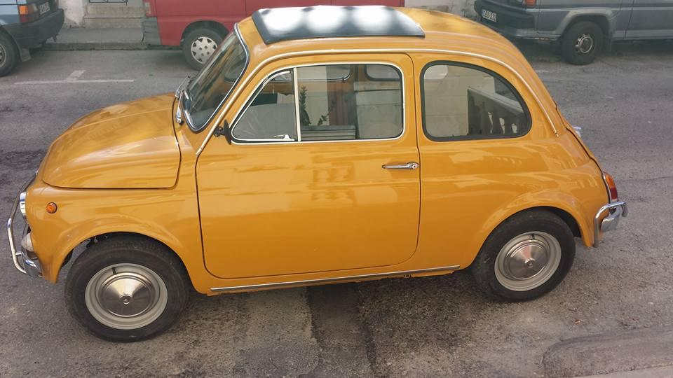 La Fiat 500 Giallo Positano 5985e25fa81