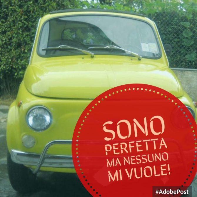 La Fiat 500L Giallo di Giuliano (in vendita)